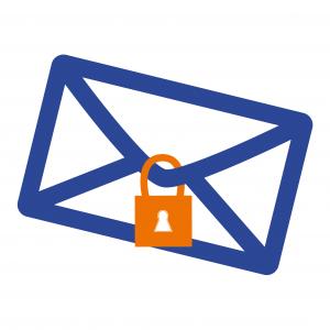Veilig e-mail versturen aangetekend