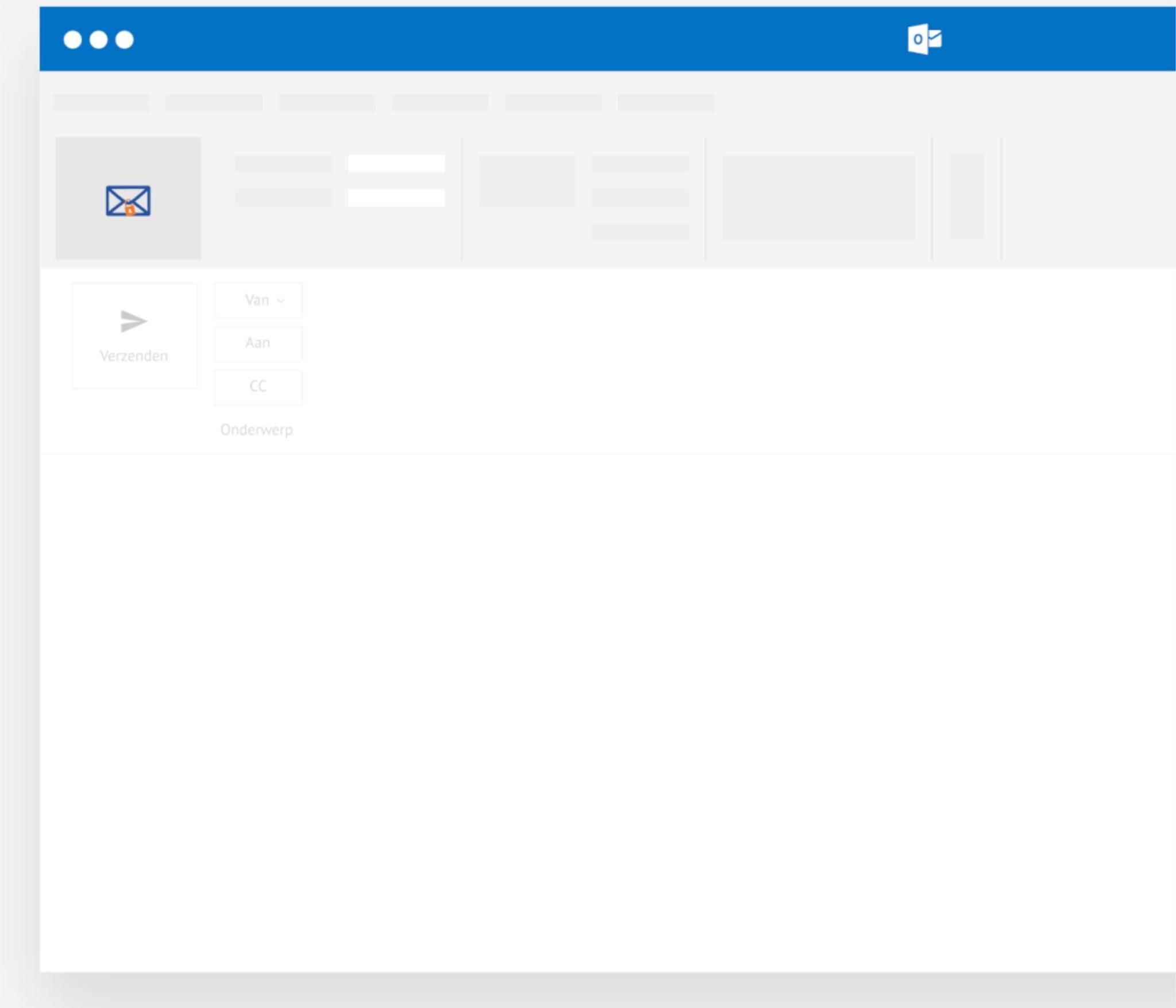 Aangetekend Mailen Outlook